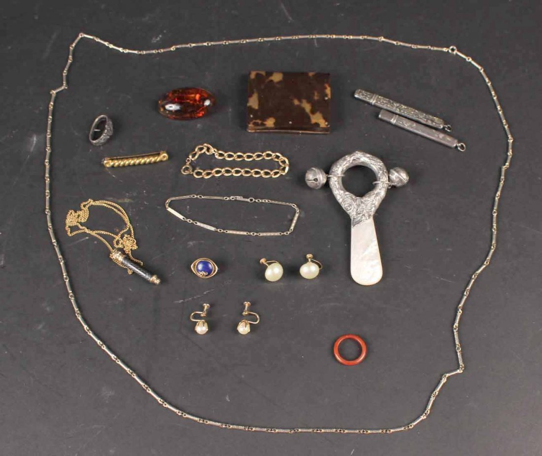 Group of Assorted Jewelry Items
