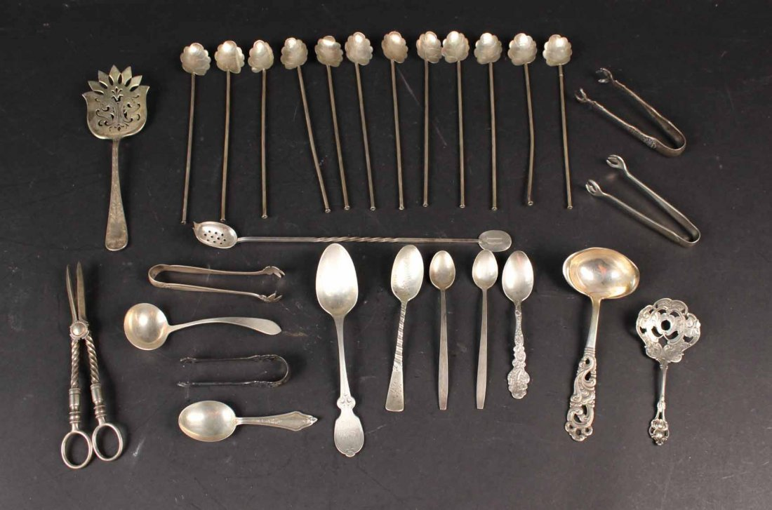 Group of Sterling Silver Flatware Items