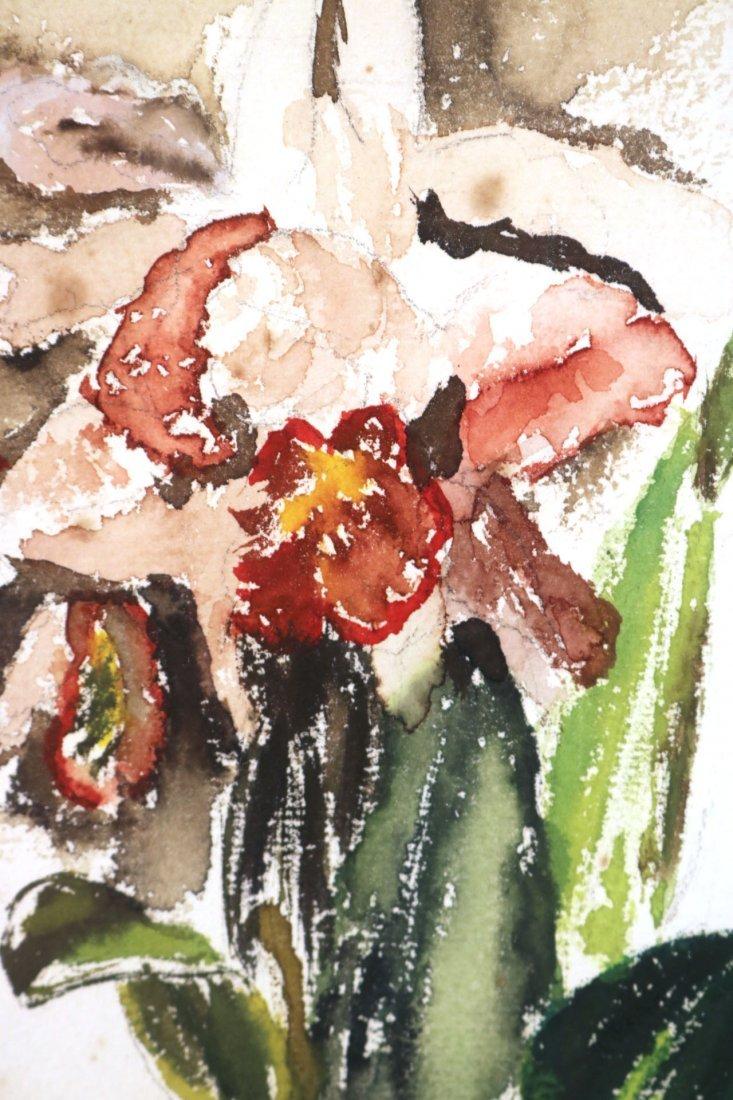 Watercolor on Paper, Floral Scene, John Marin - 3