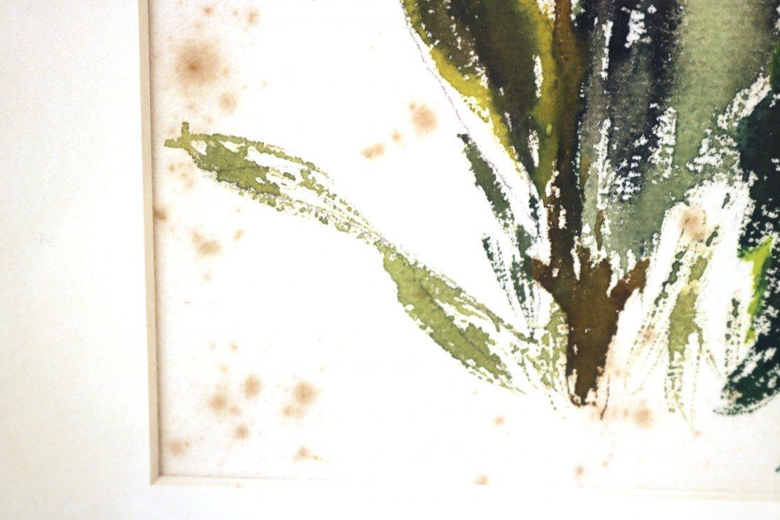 Watercolor on Paper, Floral Scene, John Marin - 4