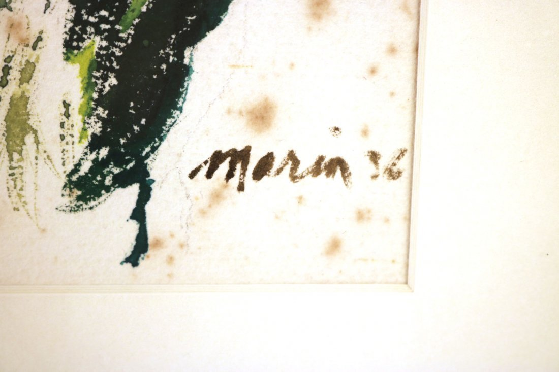 Watercolor on Paper, Floral Scene, John Marin - 5