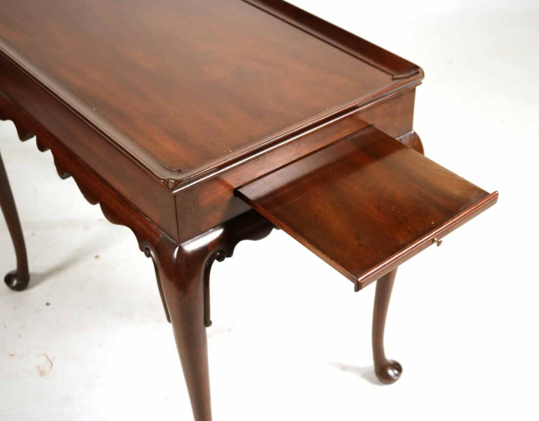 Kittinger Queen Anne Style Mahogany Tea Table - 2