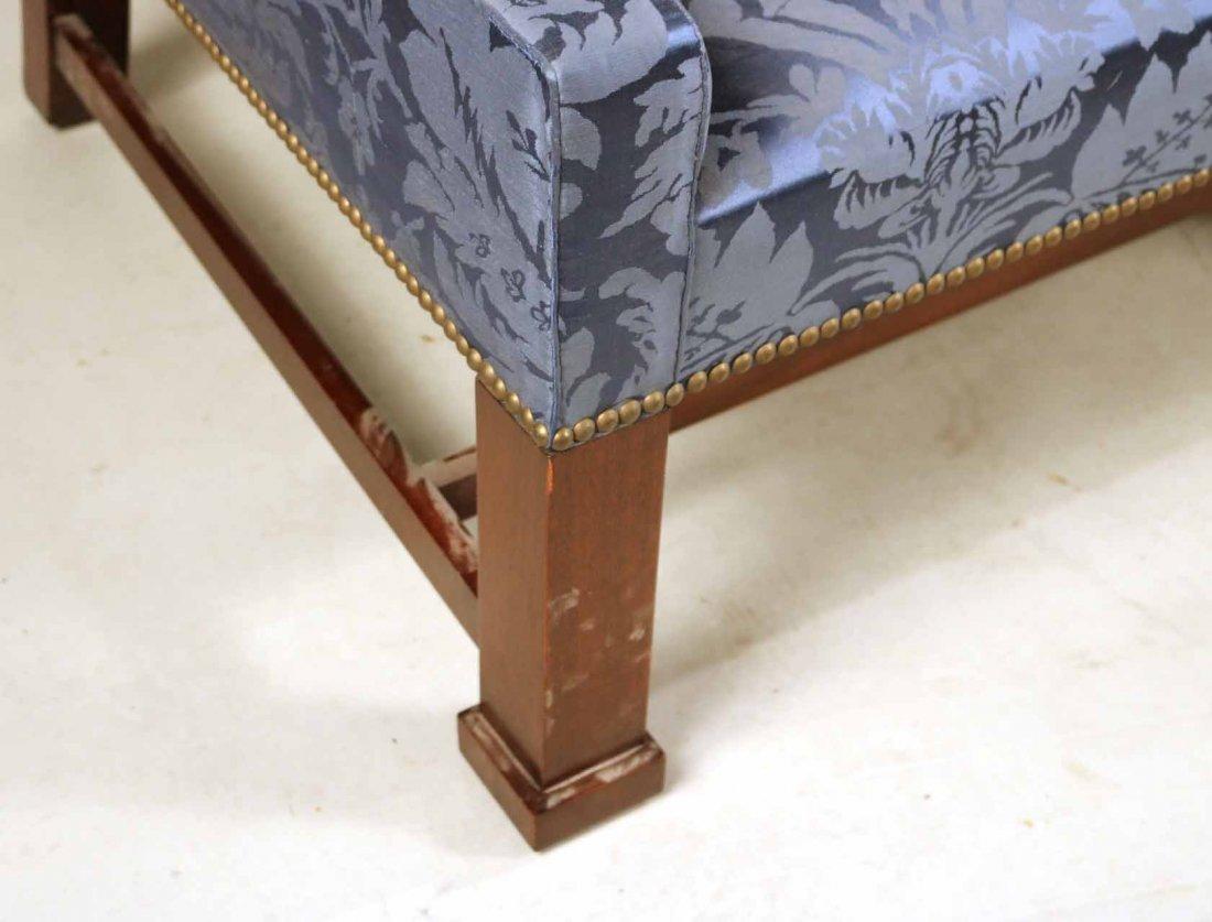 Federal Style Mahogany Camelback Sofa - 2