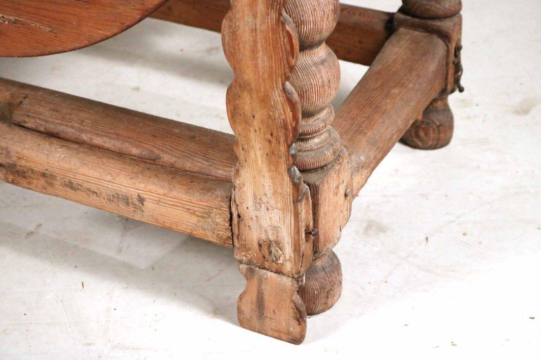 Pine Drop-Leaf Table - 3