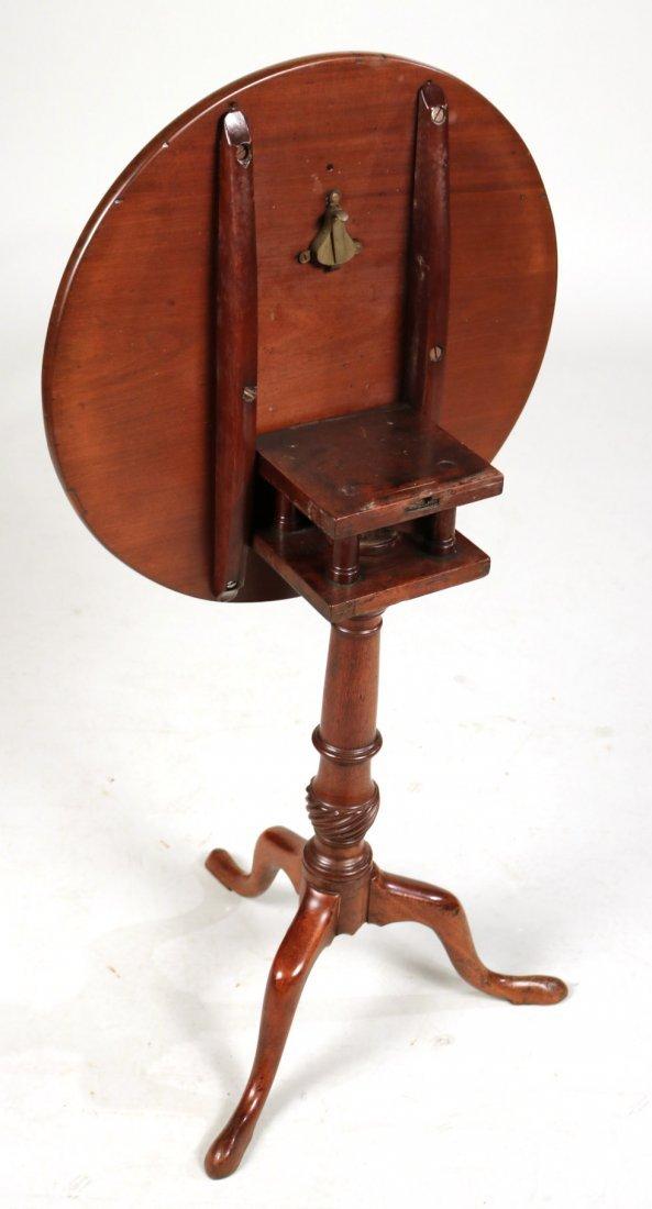 Federal Mahogany Tilt-Top Candlestand - 5