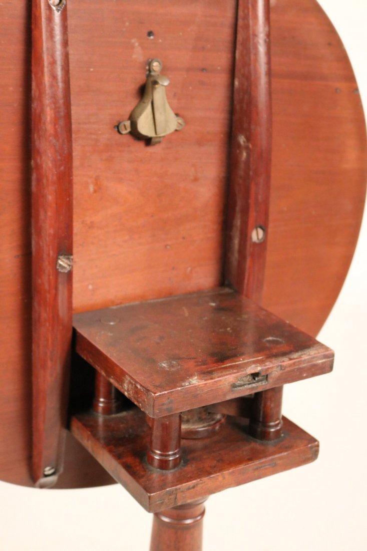 Federal Mahogany Tilt-Top Candlestand - 6