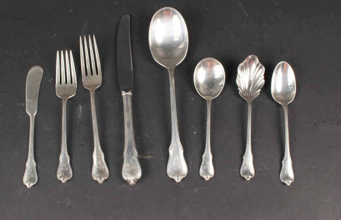 "Wallace ""Grand Colonial"" Sterling Silver Service"