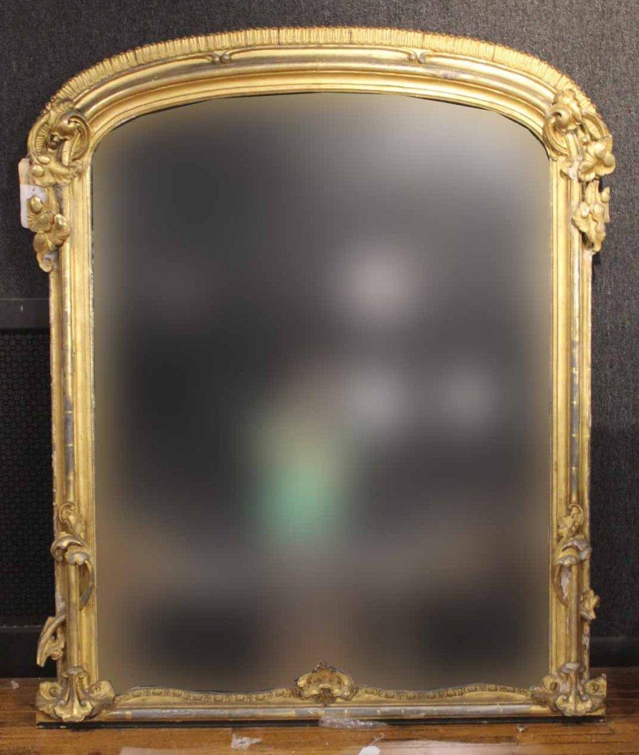 Regency Giltwood Mirror of Impressive Size