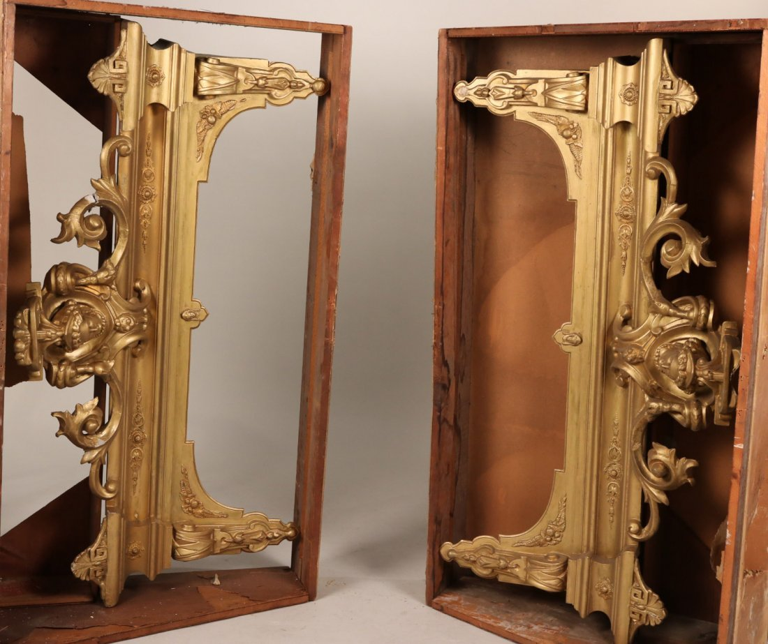 Pair of Giltwood &Plaster Architectural Elements