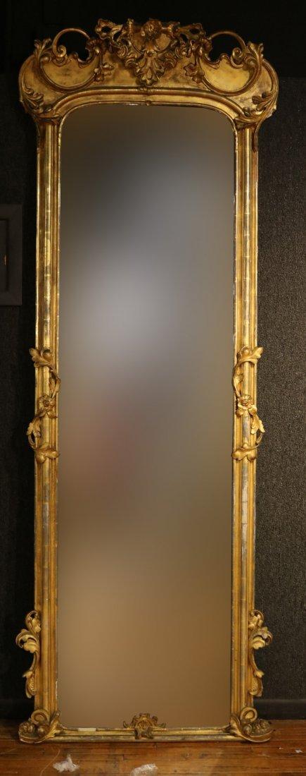 Victorian Giltwood Pier Mirror of Impressive Size