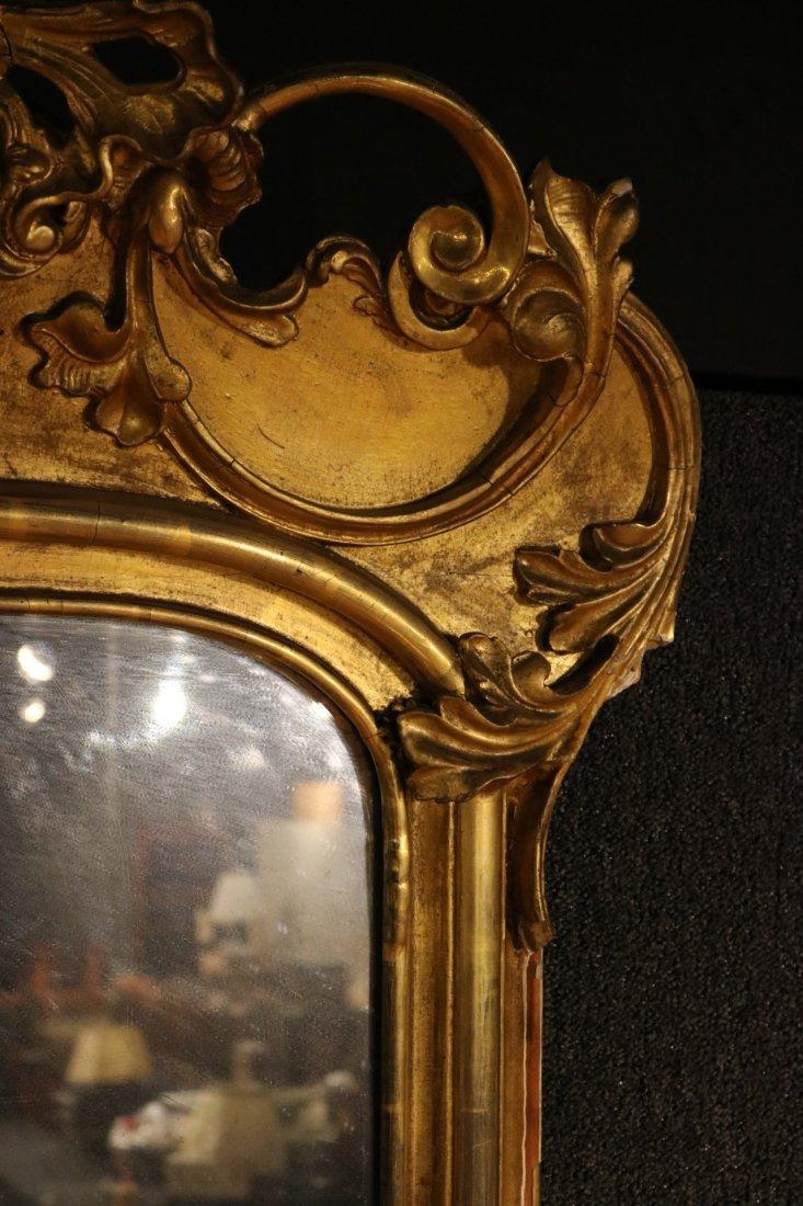 Victorian Giltwood Pier Mirror of Impressive Size - 4