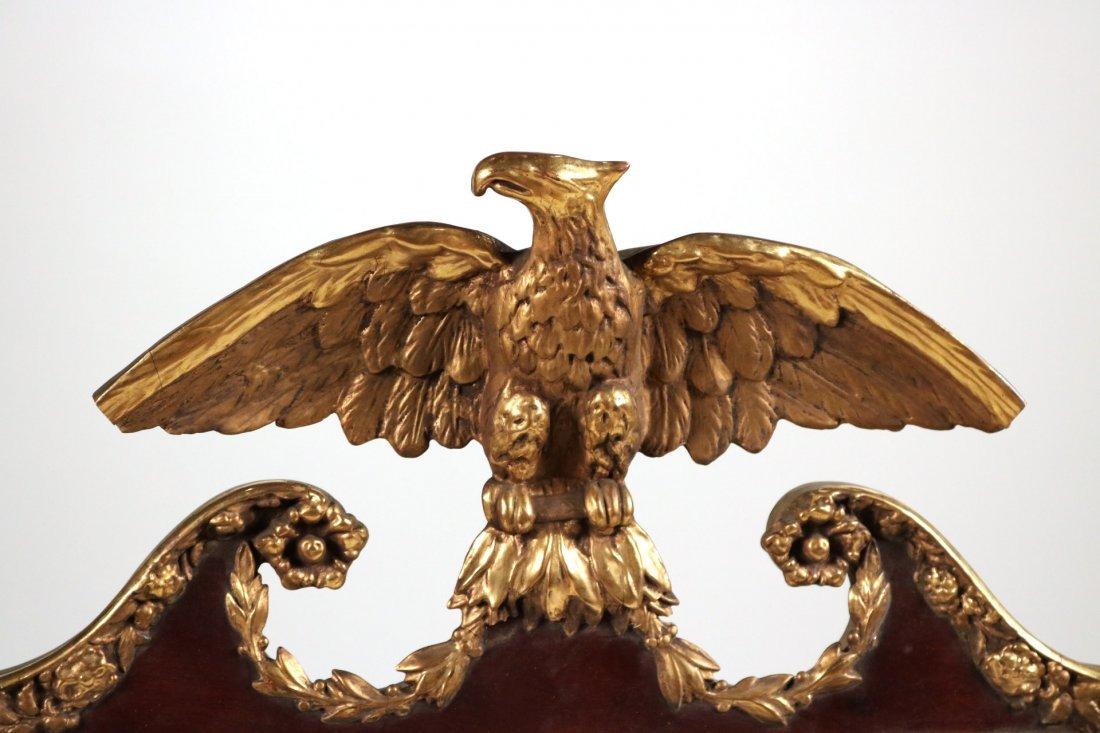 Federal Parcel-Gilt Mahogany Pier Mirror - 2