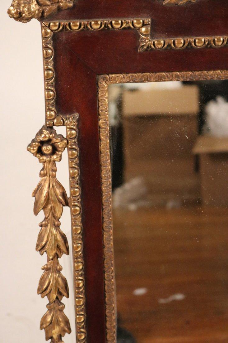 Federal Parcel-Gilt Mahogany Pier Mirror - 4