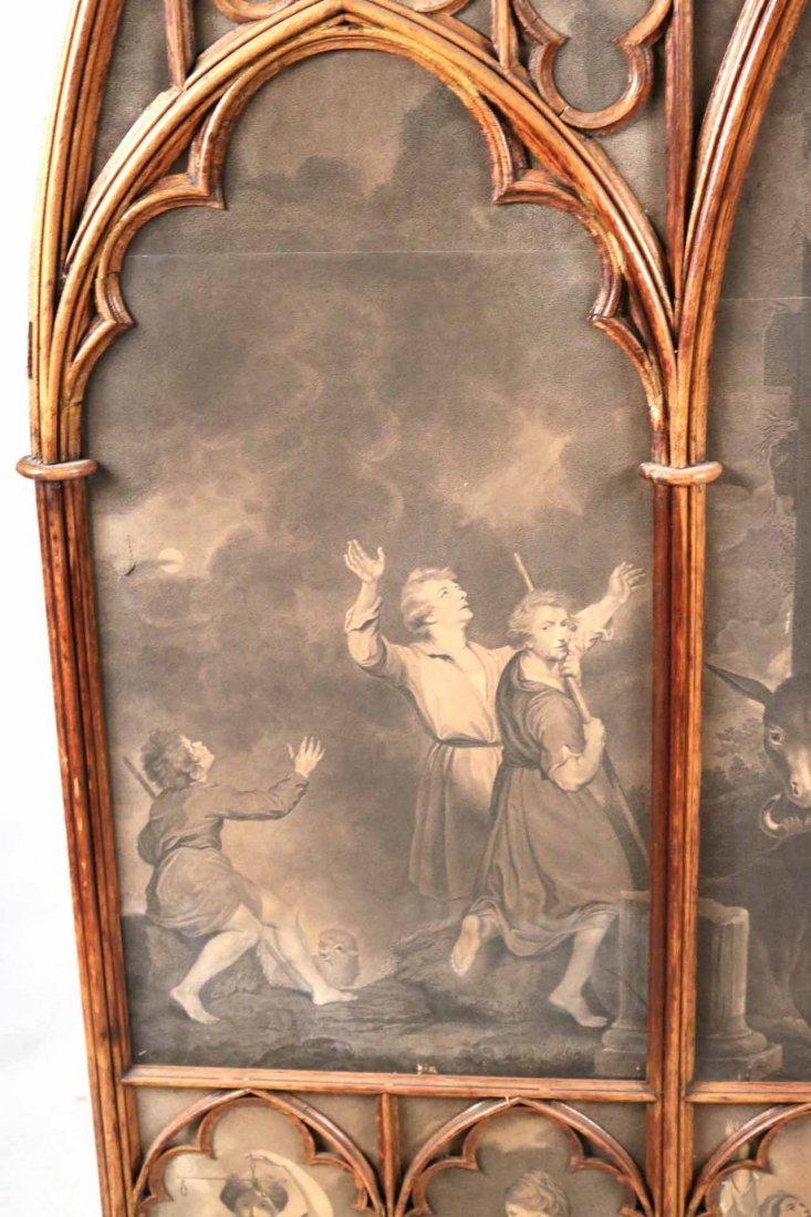 Gothic Revival Oak Framed Print - 10