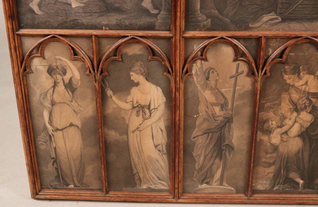Gothic Revival Oak Framed Print - 6
