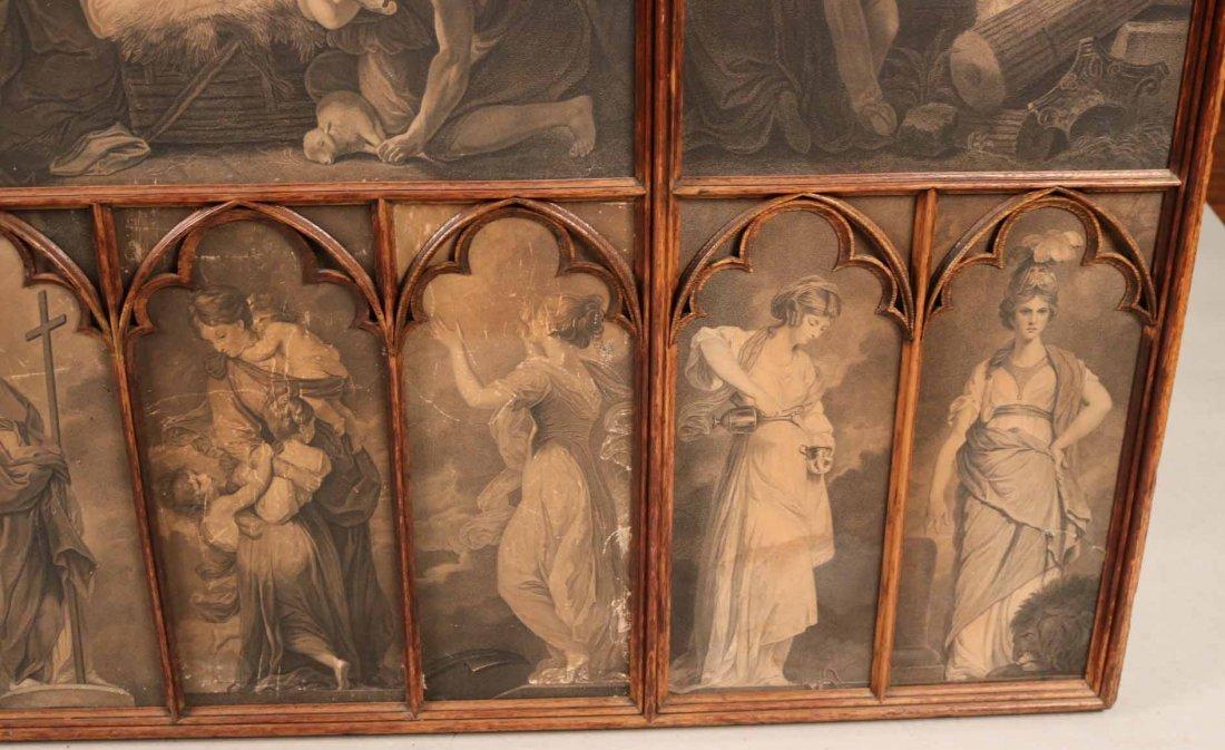 Gothic Revival Oak Framed Print - 7