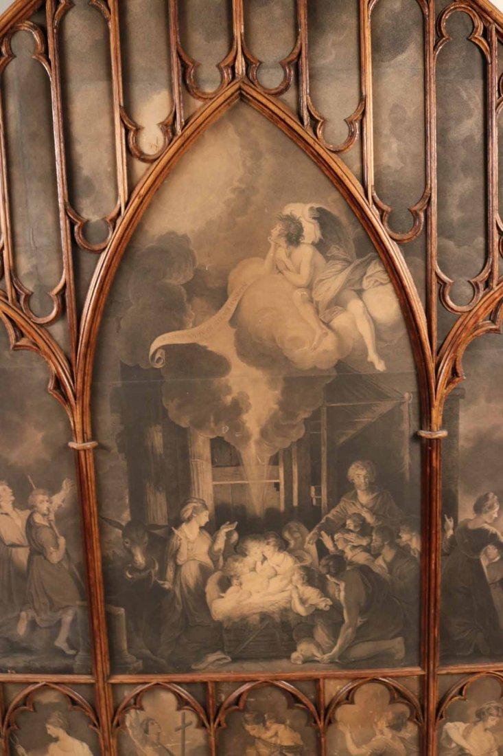 Gothic Revival Oak Framed Print - 8