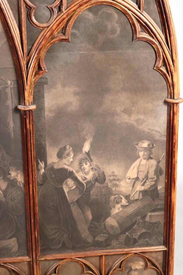 Gothic Revival Oak Framed Print - 9