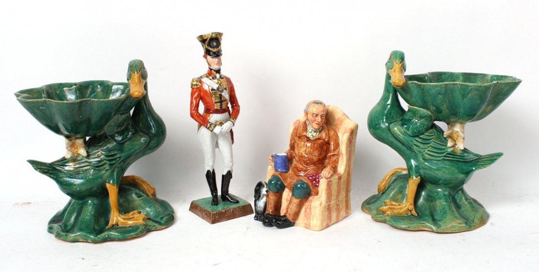 """Royal Doulton Porcelain Figure """"Uncle Ned"""""""