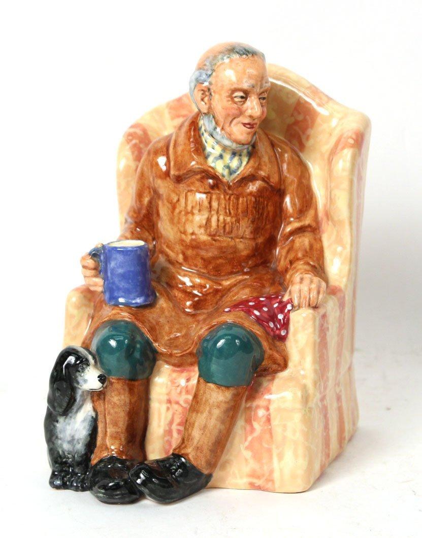 """Royal Doulton Porcelain Figure """"Uncle Ned"""" - 2"""