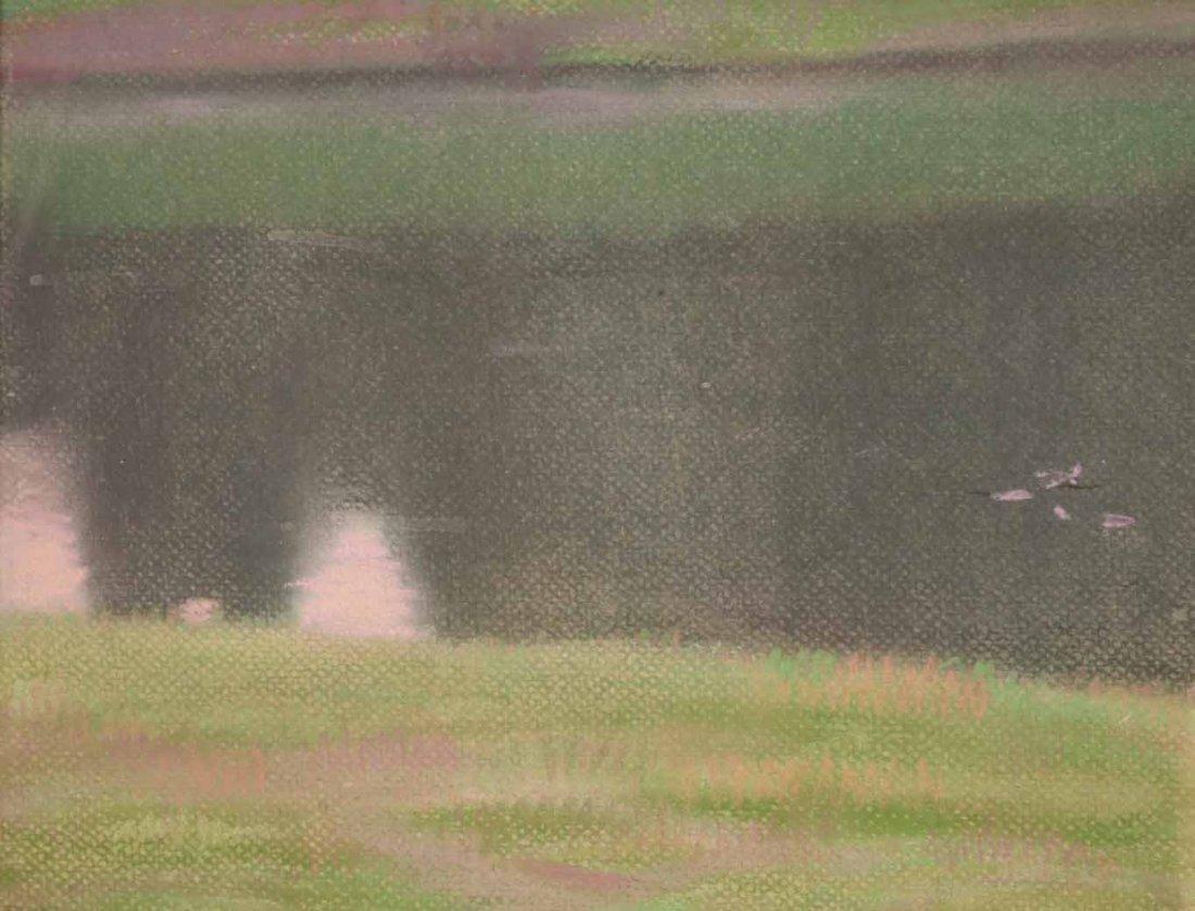 Pastel on Paper, Connecticut Landscape - 6