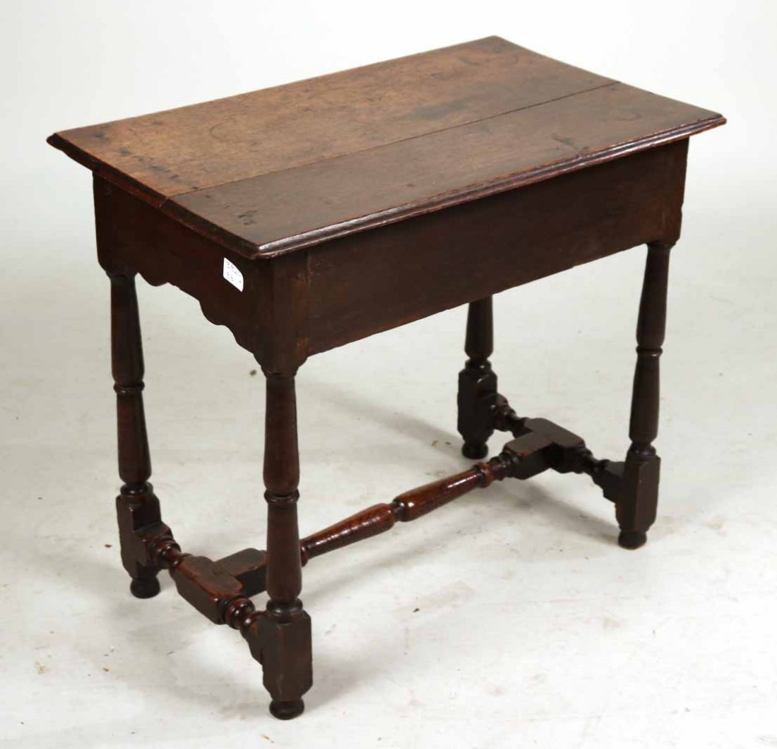 William and Mary Oak Dressing Table - 7