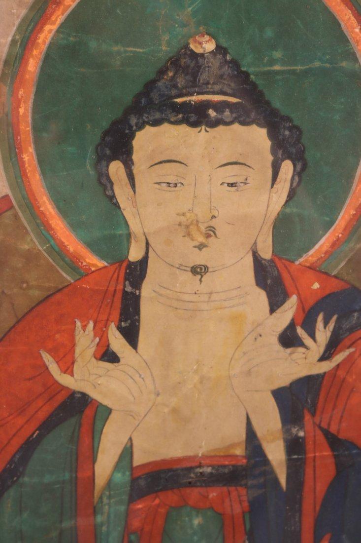 Pair of Mixed Medias on Paper of Deities - 8