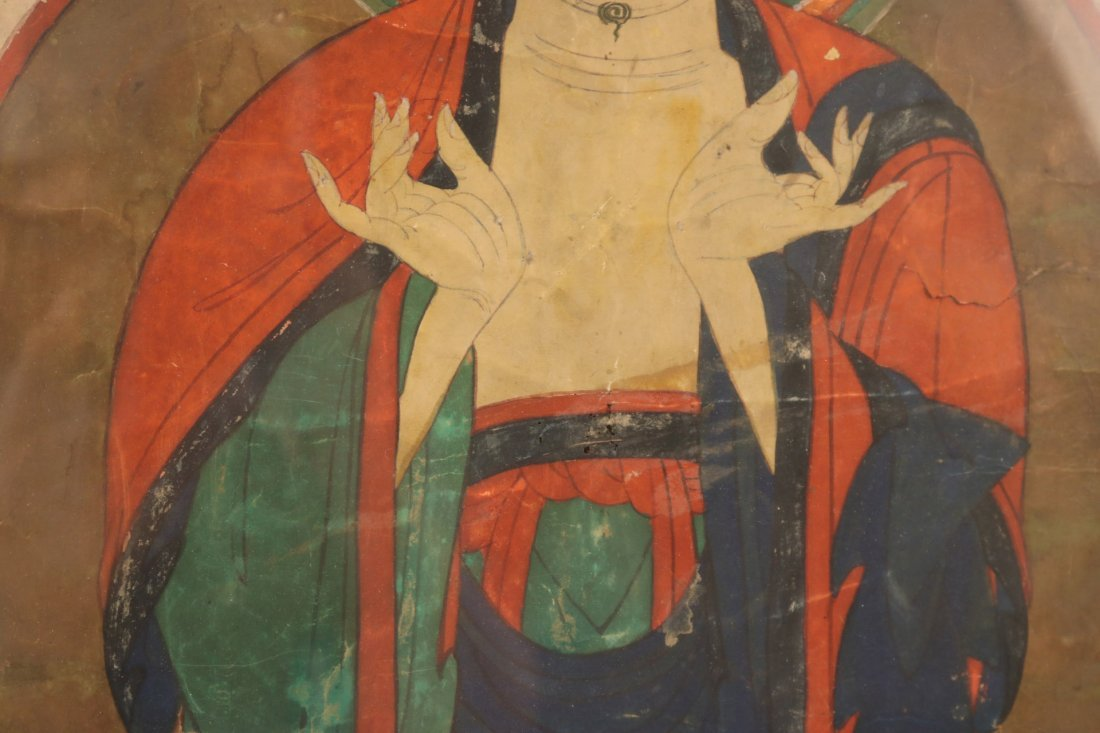 Pair of Mixed Medias on Paper of Deities - 9