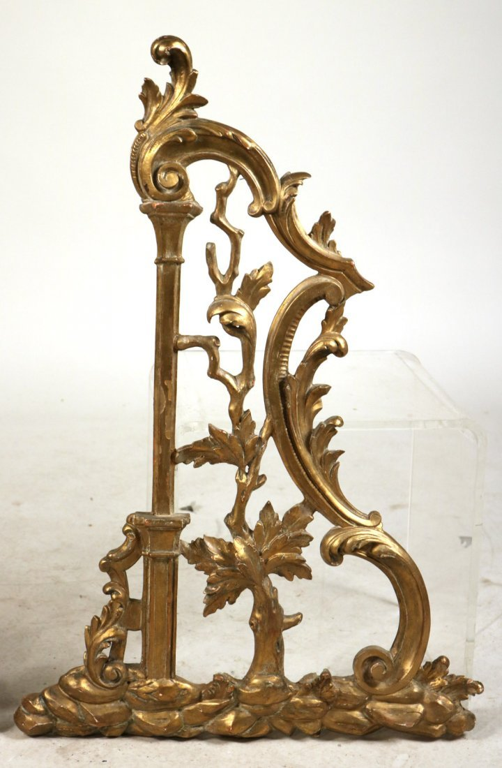Pair of Giltwood Architectural Elements - 3
