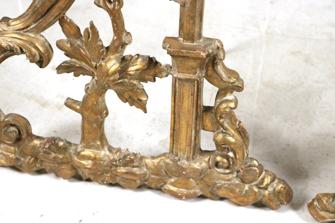 Pair of Giltwood Architectural Elements - 6