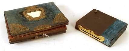 Victorian Photo Album and Music Box