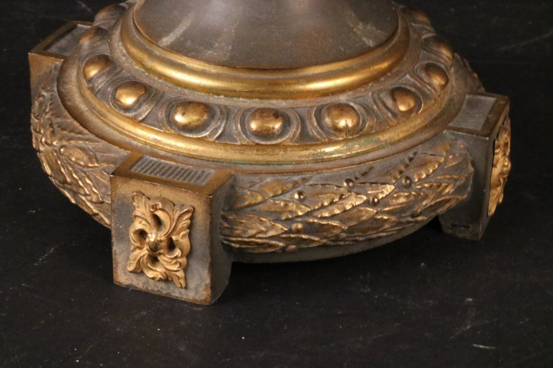 Neoclassical Style Brass Urn - 5
