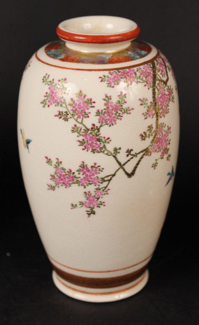 Three Japanese Satsuma Vases - 5