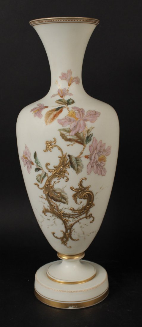 Pair of Opaline Glass Vases - 3
