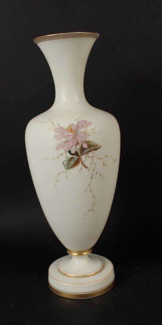 Pair of Opaline Glass Vases - 6