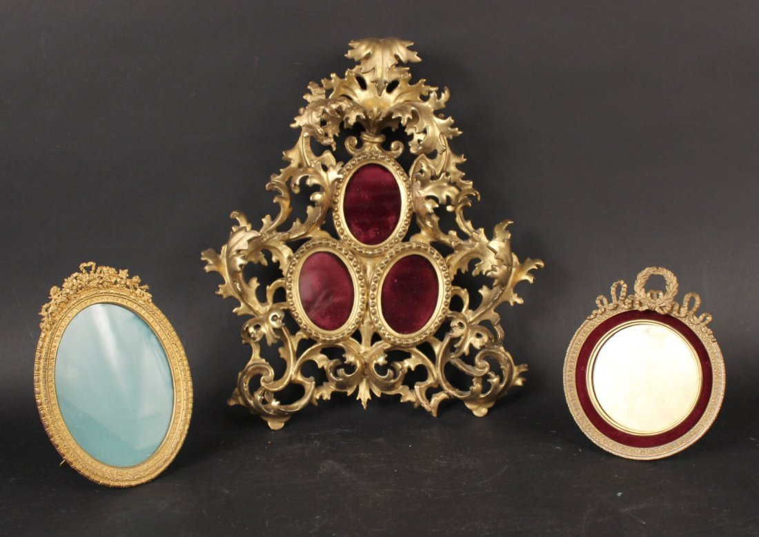 Three Neoclassical Style Frames