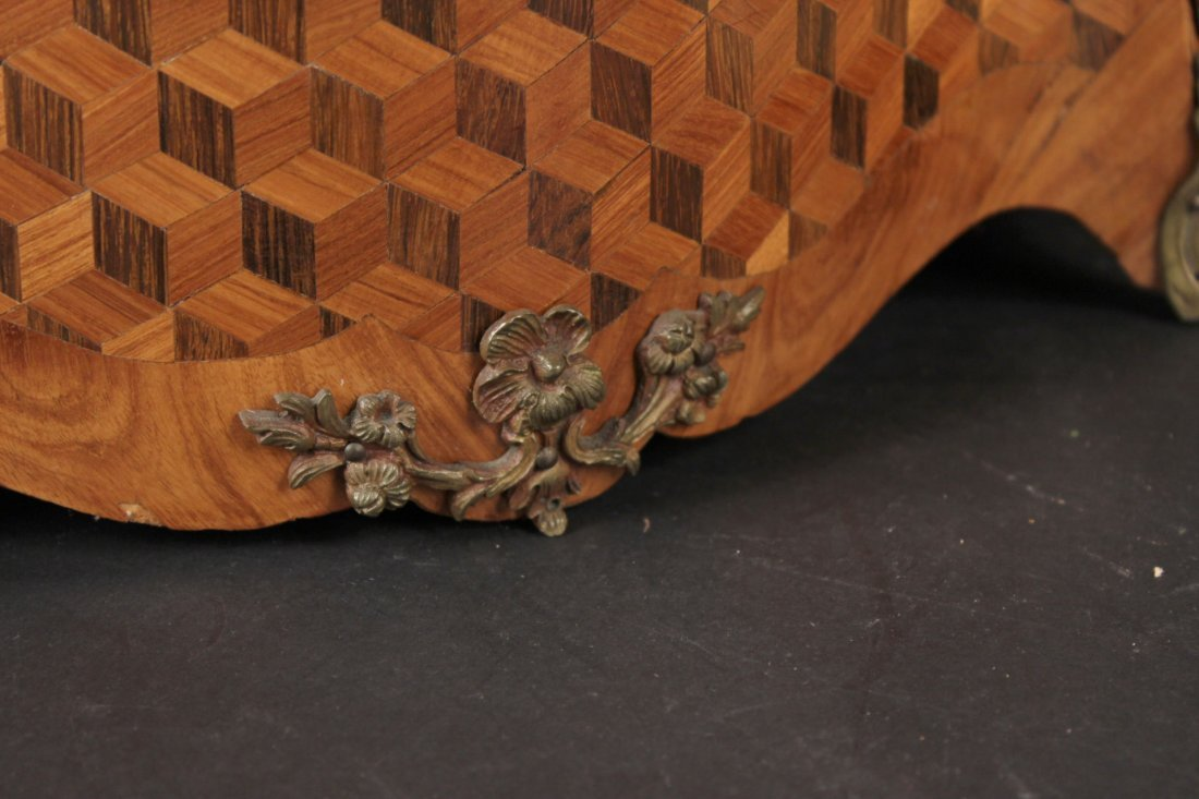 Bronze-Mounted Marquetry Planter - 4