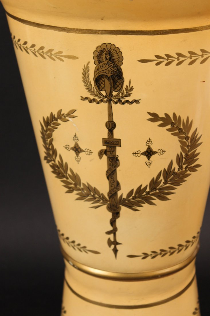 Bronze-Mounted Marquetry Planter - 8