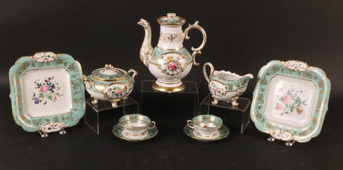 Jacob Petit Porcelain Tea Service