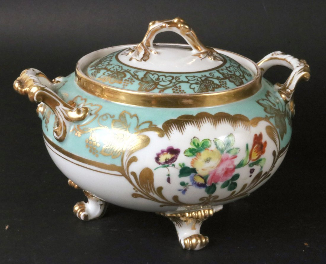 Jacob Petit Porcelain Tea Service - 4