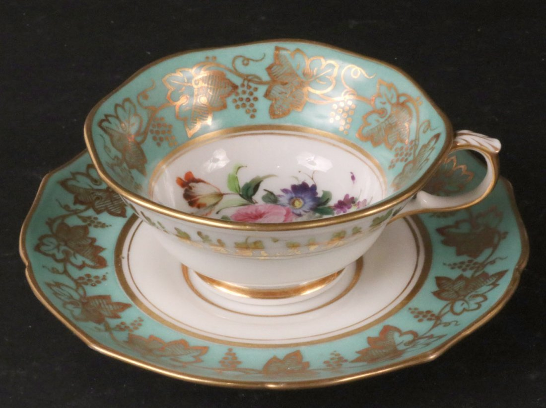 Jacob Petit Porcelain Tea Service - 6