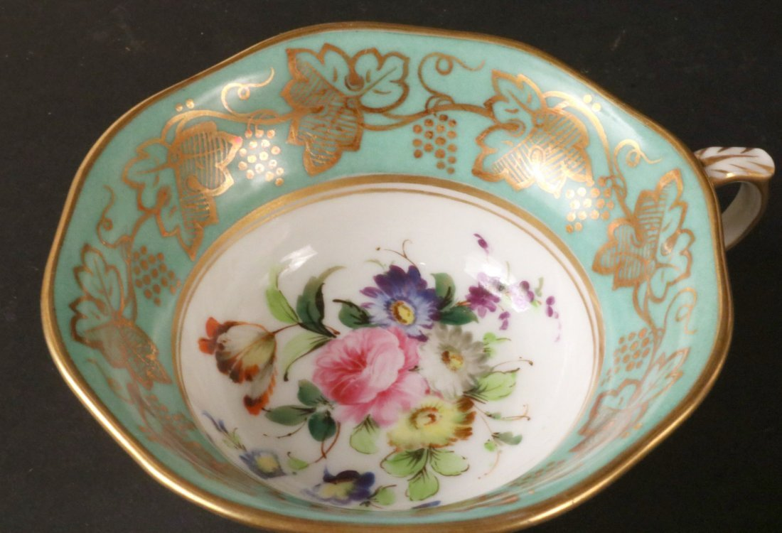 Jacob Petit Porcelain Tea Service - 7