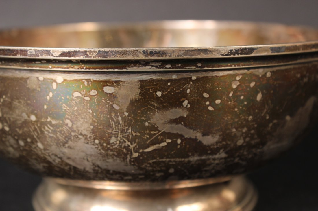 S Kirk Sterling Silver Footed Bowl - 2