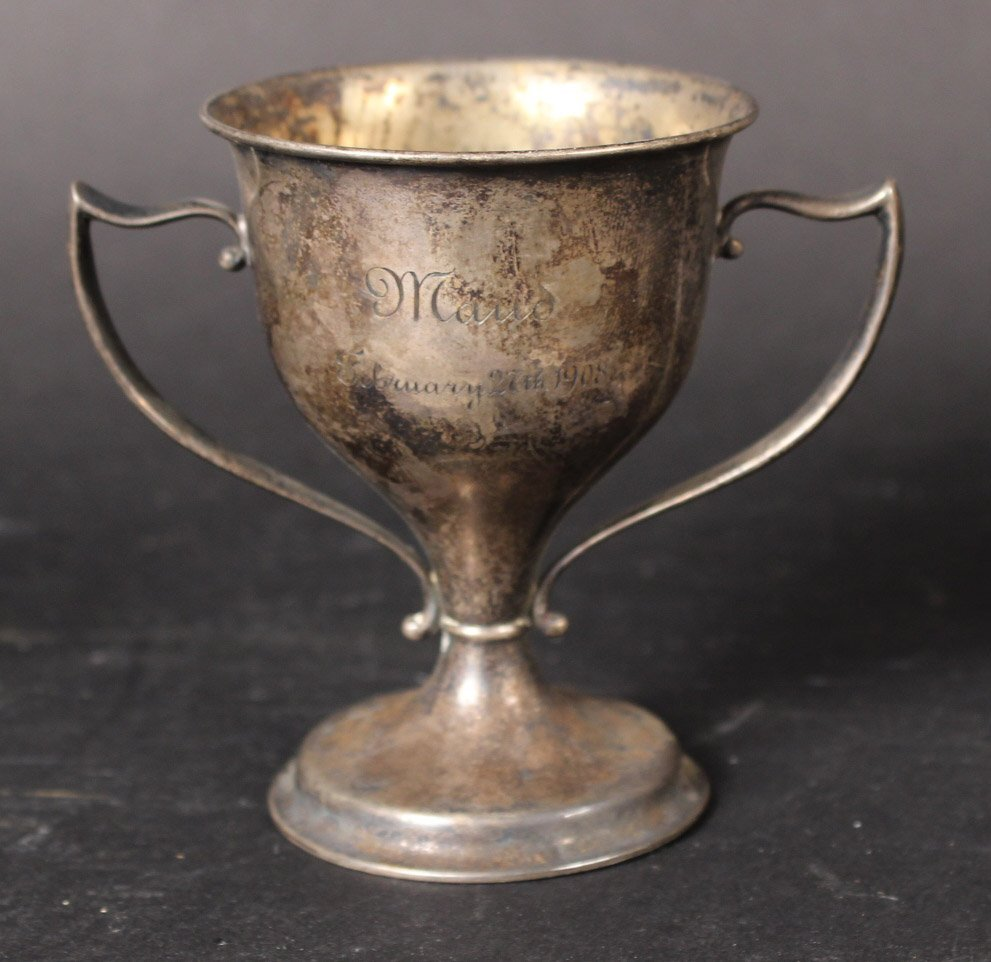 Tiffany Sterling Silver 1908 Trophy - 4