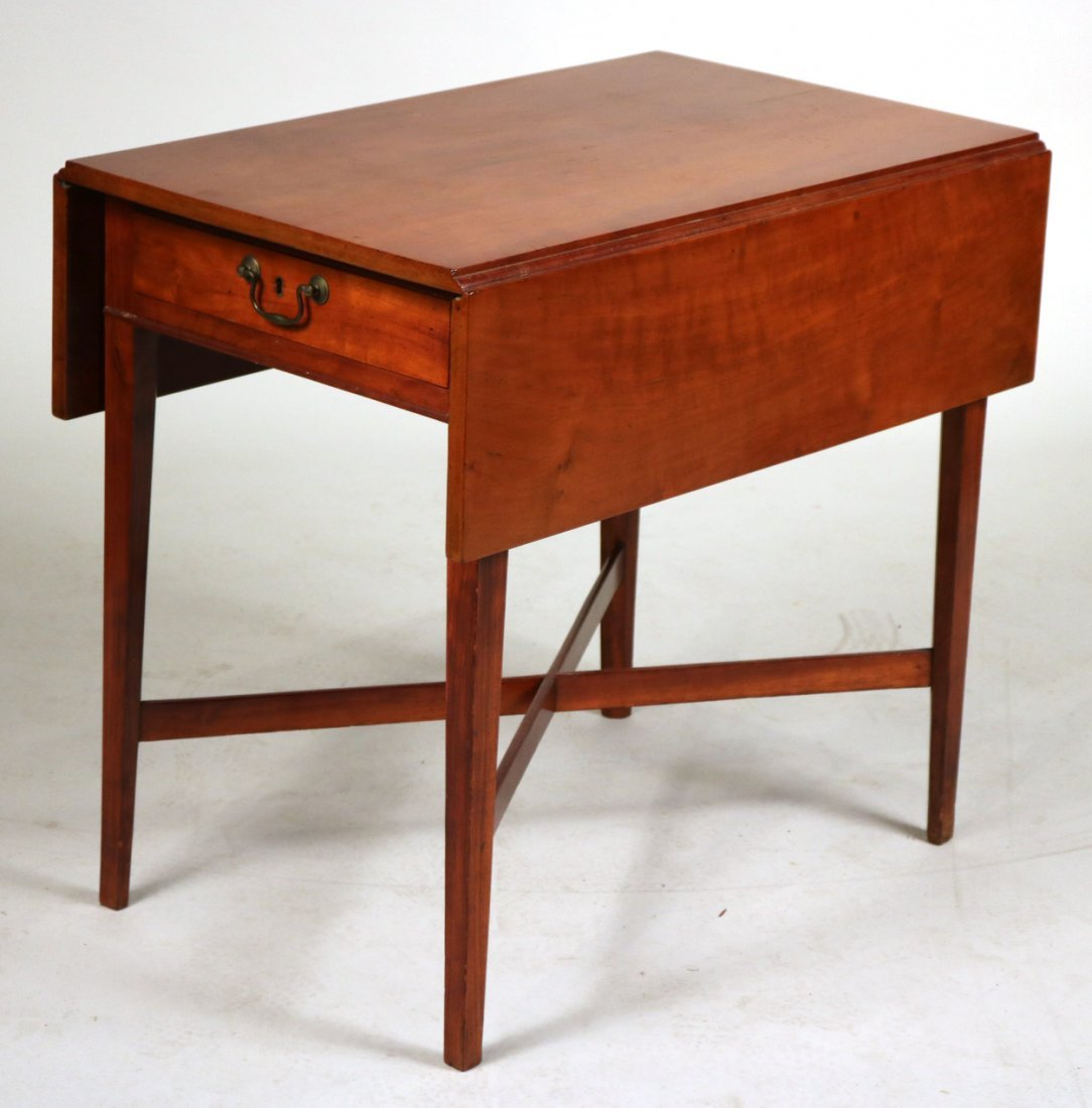 Federal Mahogany Drop Leaf Table
