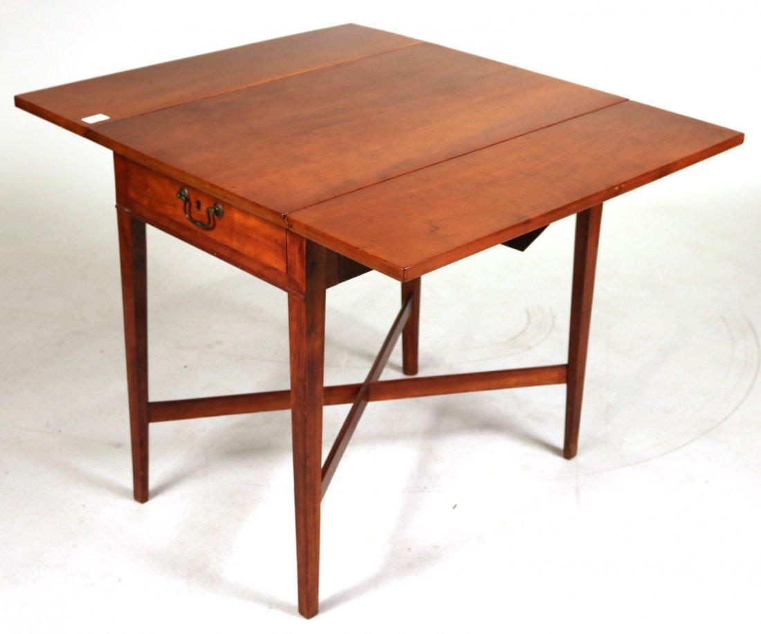 Federal Mahogany Drop Leaf Table - 4