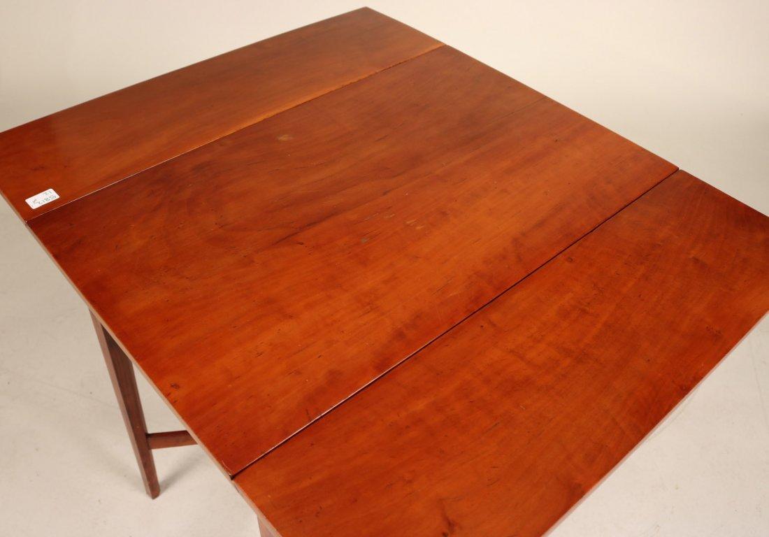 Federal Mahogany Drop Leaf Table - 5