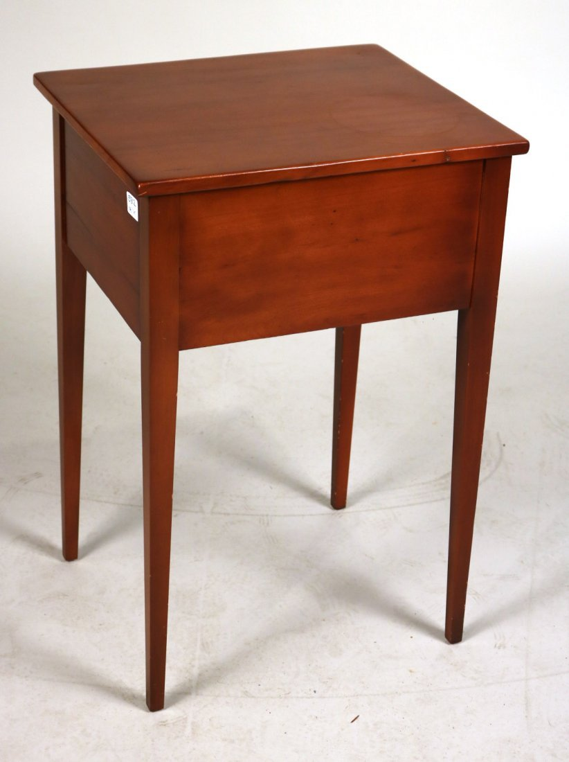 Federal Cherrywood Two-Drawer Side Table - 6