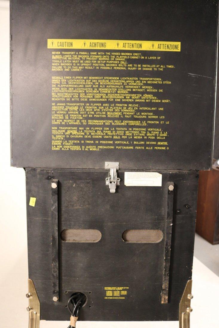 Indiana Jones Pinball Machine - 10