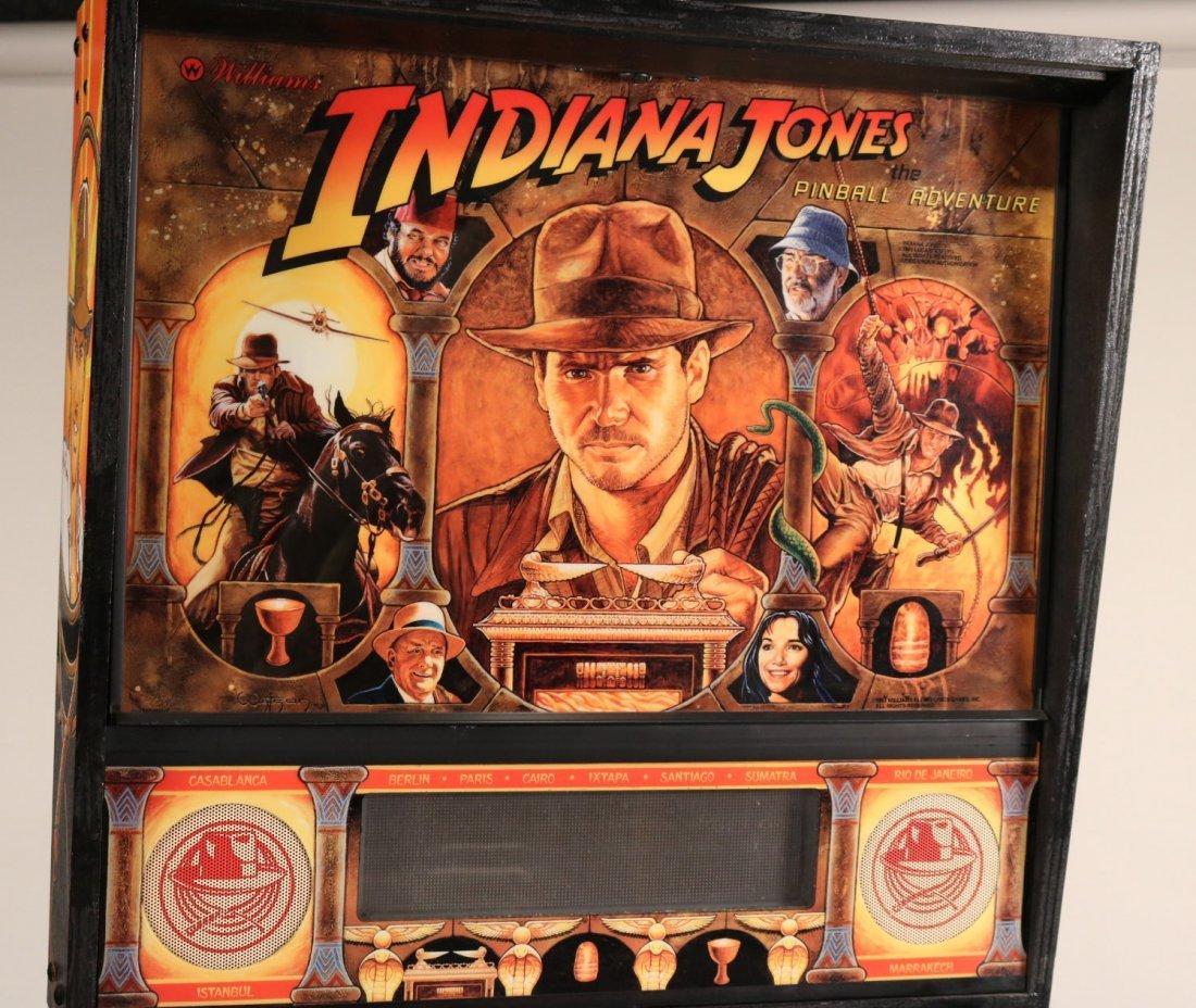 Indiana Jones Pinball Machine - 2